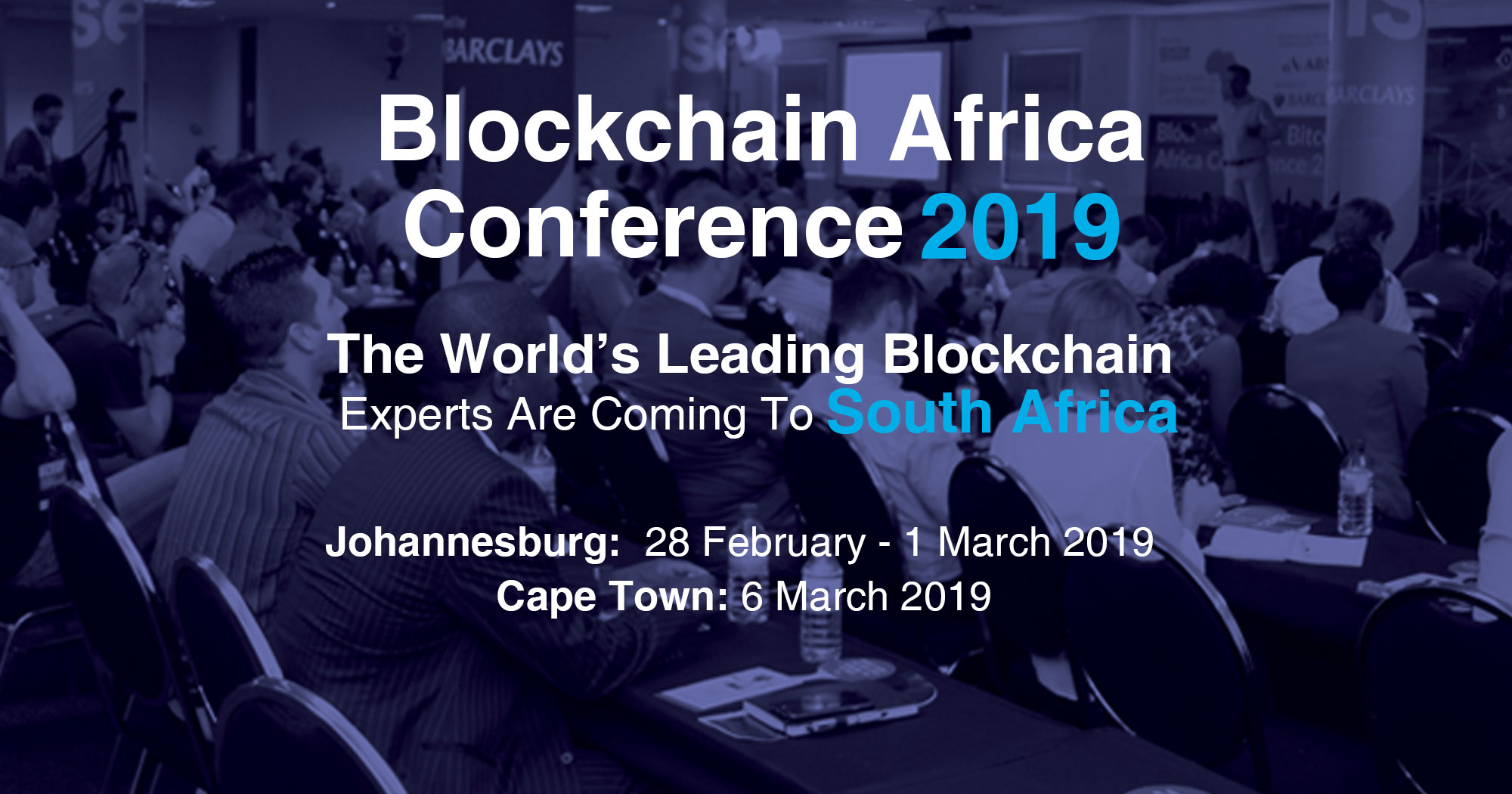 blockchain africa conference speakers announced
