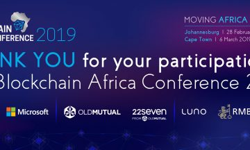 Blockchain Africa Conference 2020 – Blockchain Technology: Moving