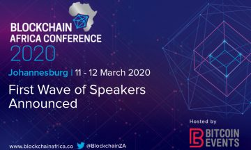 First Wave of Speakers for Blockchain Africa Conference 2020 Announced