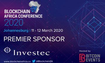 Blockchain Africa Conference 2020 Announces Investec as Premier Sponsor
