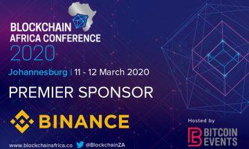 Blockchain Africa Conference 2020 Announces Binance as a Premier Sponsor