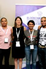 Day 2: Bitcoin Events team: Andrew Ngare, Theo Sauls, Sonya Kuhnel, Nasreen Saunders, Nathan Johnson, Mapaseka Dipale