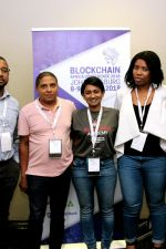 Day 2: Bitcoin Events team: Andrew Ngare, Theo Sauls, Nasreen Saunders, Mapaseka Dipale and Sonya Kuhnel